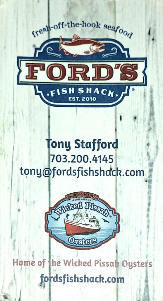 Tony Stafford