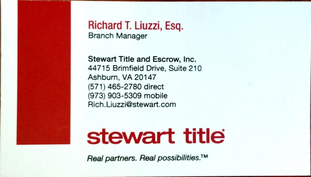 Richard T Liuzzi, Esq